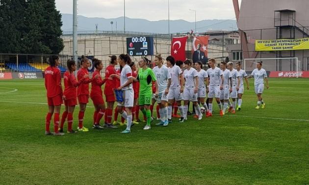 Збірна України розгромила Туреччину у контрольному матчі