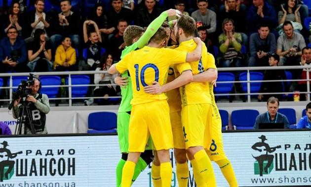 Збірна України із футзалу перемогла Хорватію