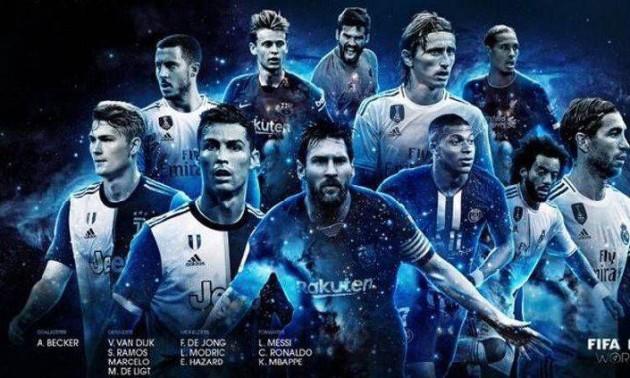 У ФІФА назвали символічну збірну року