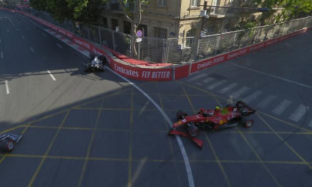 Леклер завдяки аварії Цуноди виграв кваліфікацію в Баку