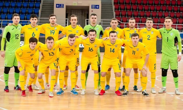 Збірна України з футзалу назвала склад на перші матчі відбору на Євро-2022