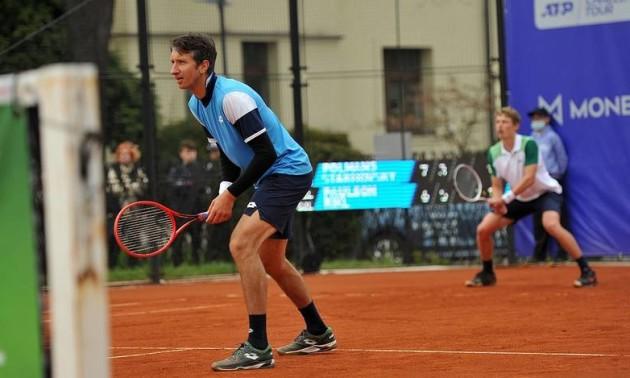 Стаховський пробився до фіналу парного турніру в Празі