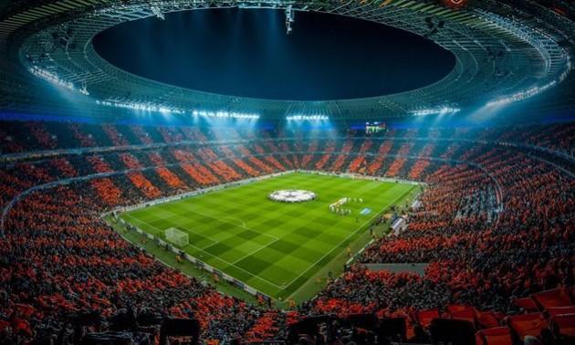 На Донбас Арені терористи включили гімн Ліги чемпіонів