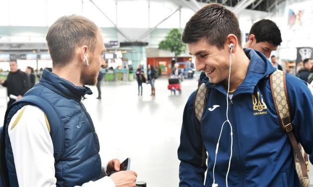 Українську збірну тепло зустріли у Португалії