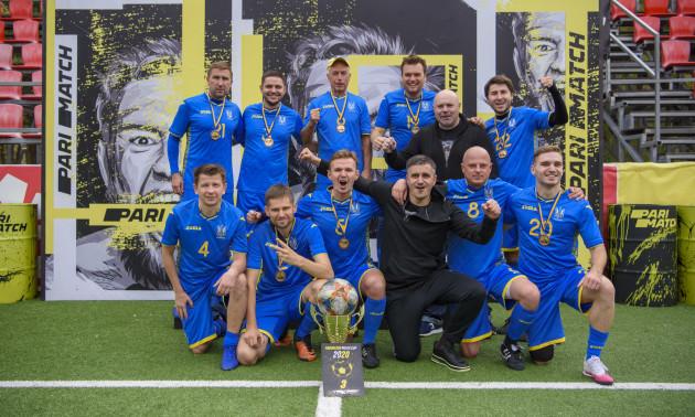 У Києві відбувся турнір серед спортивних журналістів України