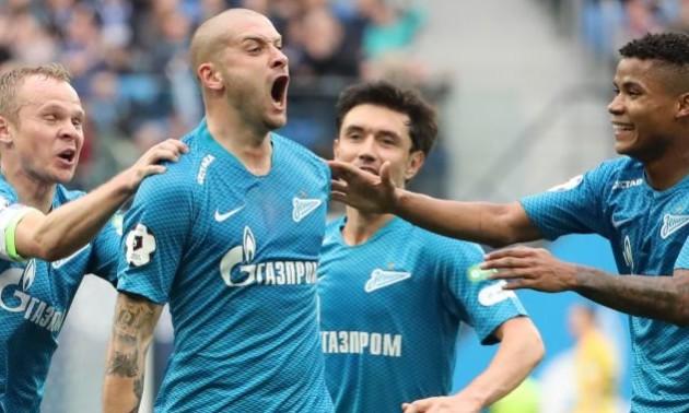 Ракицький забив третій гол за Зеніт