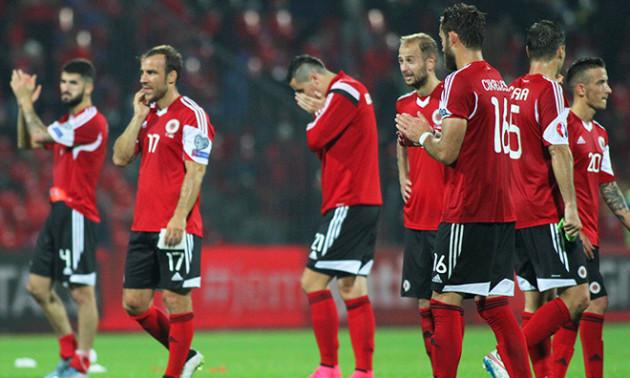 Албанії увімкнули чужий гімн перед матчем з Францією