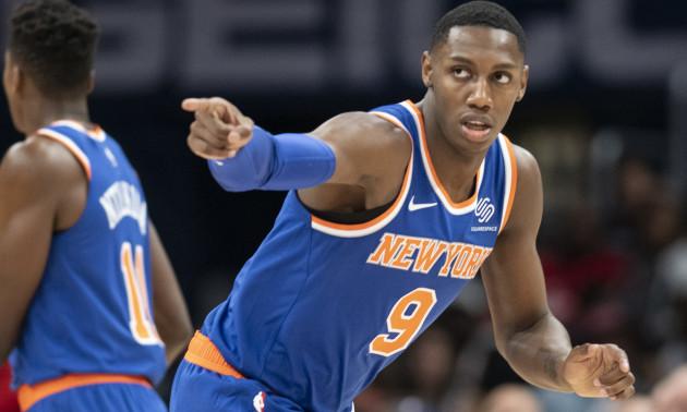 Данк 19-річного новачка Нью-Йорка - найкращий момент дня в НБА