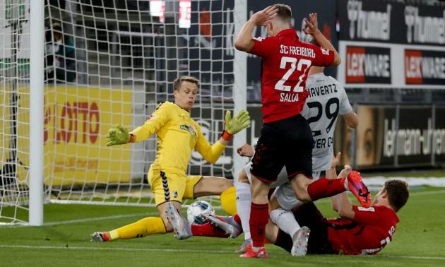 Баєр мінімально переміг Фрайбург  у 29 турі Бундесліги