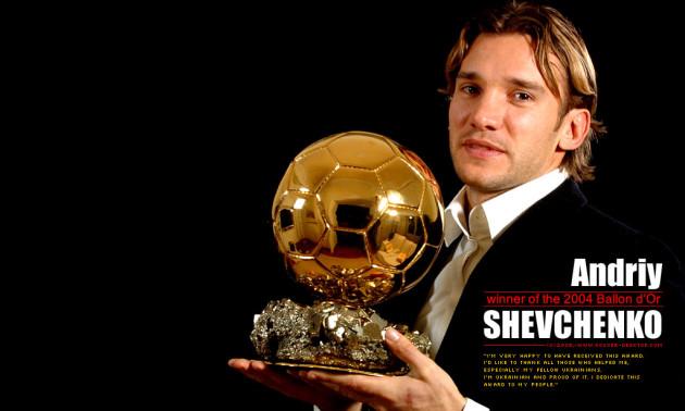 Золотий Шева! Рівно 15 років тому Андрій Шевченко отримав Золотий м'яч