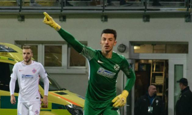 Голкіпер Стяуа знепритомнів у матчі Ліги Європи