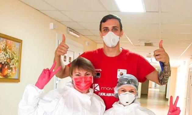 Гравець збірної України вилікувався від коронавірусу