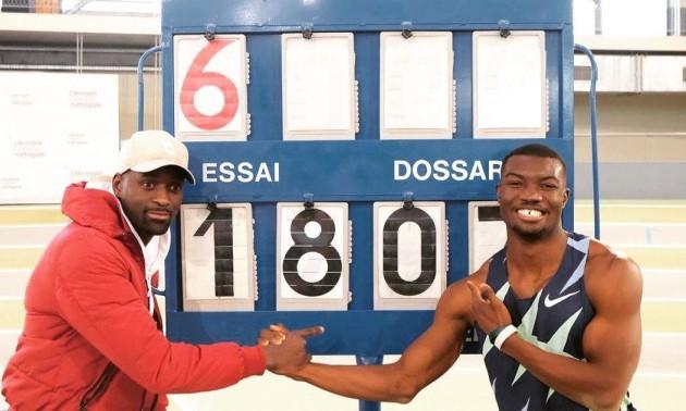 Африканський атлет побив світовий рекорд у потрійному стрибку