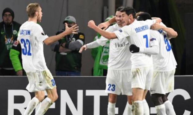 Українець ввійшов у символічну збірну 4-го туру Ліги Європи