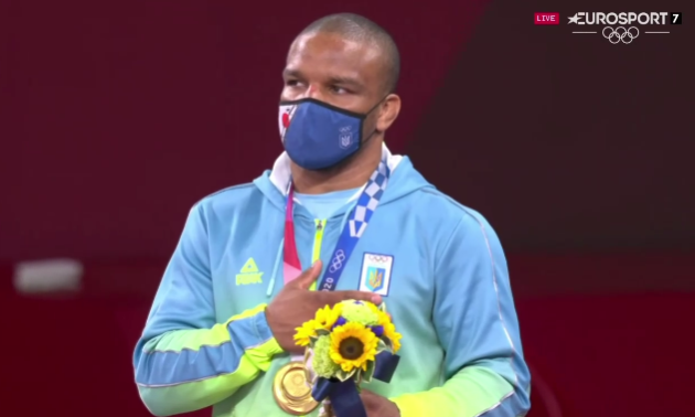 Довгоочікуваний Гімн України. Церемонія нагородження Жана Беленюка на Олімпійських іграх