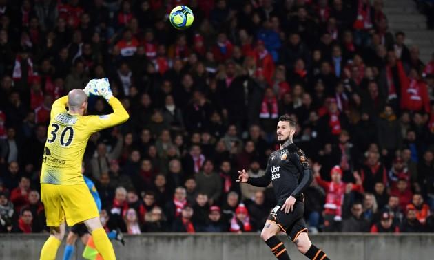 Марсель обіграв Нім у 27 турі Ліги 1