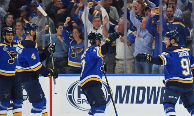 Сент-Луїс зрівняв рахунок із Бостоном у фіналі НХЛ