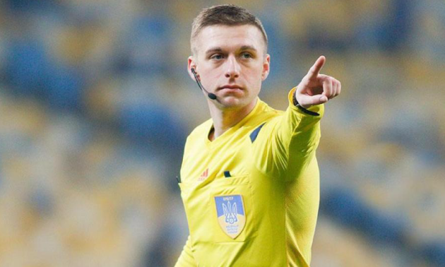 В Україні визначили найкращого футбольного арбітра