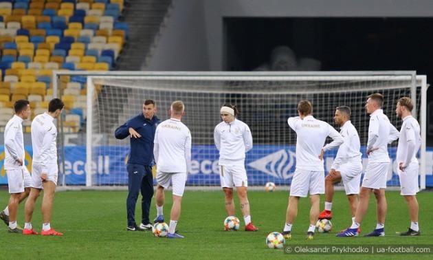 Португалія - Україна: стартові склади команд