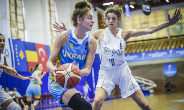 Жіноча збірна України поступилася Великій Британії на Євробаскеті U-20