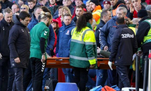 В Англії гравець втратив свідомість на лаві для запасних