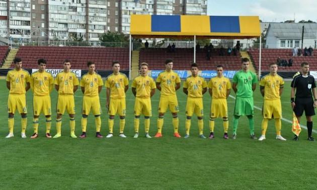 Збірна України U-19 програла Норвегії у відборі Євро-2019