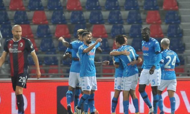 Наполі здолав Болонью у 7 турі Серії А