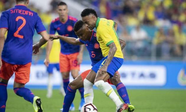 Неймар врятував Бразилію від поразки у матчі з Колумбією