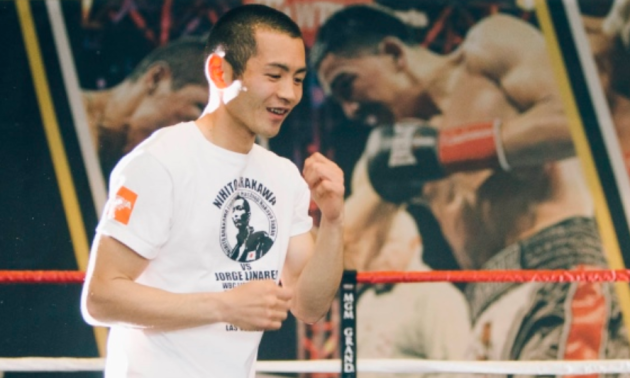 Суперник Берінчика провів тренування в Україні