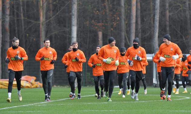 Шахтар без семи гравців готується до матчу проти Реала