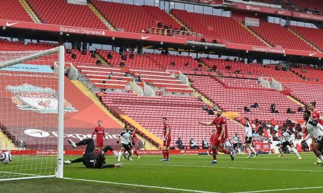 Ліверпуль - Фулгем 0:1. Огляд матчу