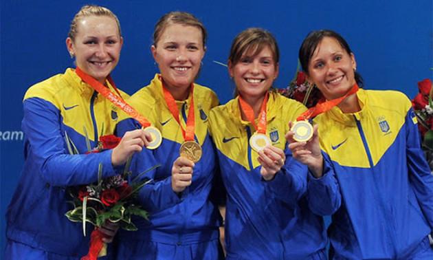 12 років тому українські шаблістки виграли Олімпіаду в Пекіні