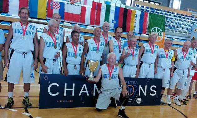 Українські ветерани стали чемпіонами Європи