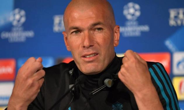 Зідан назвав стартовий склад Реала на матч з Шахтарем