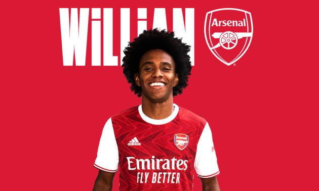Арсенал оголосив про підписання Вілліана