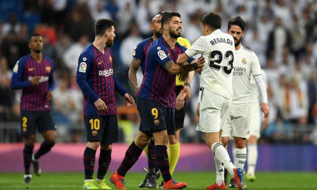 Реал програв Барселоні на Сантьяго Бернабеу