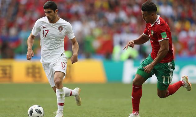 Форвард Португалії може пропустити матч з Україною