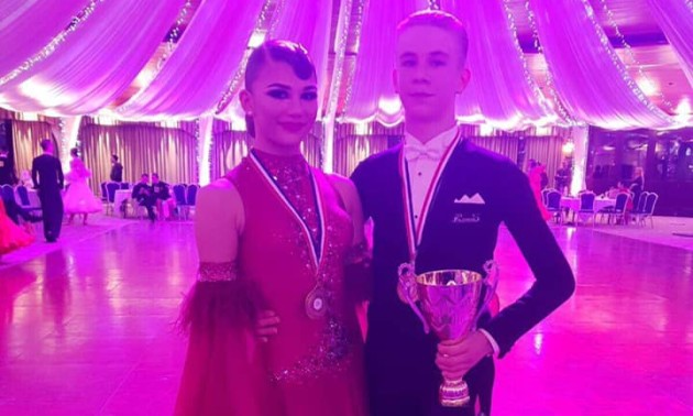 Українці Данило Афонін і Ксенія Шамич стали чемпіонами Великої Британії