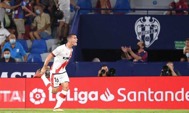 Райо Вальєкано врятувався у матчі з Леванте у 4 турі Ла-Ліги