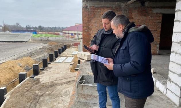 УАФ проінспектувала новий стадіон Колоса