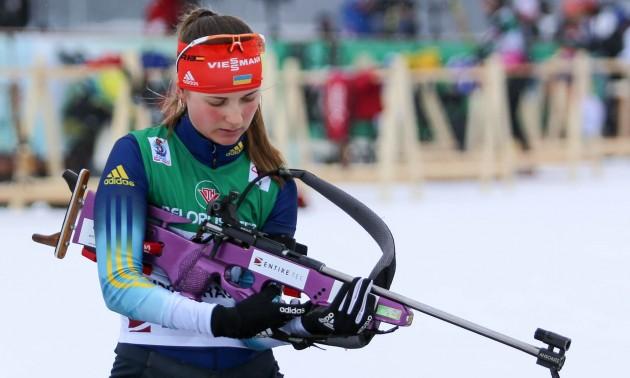 Бєлкіна не захистила бронзу на Кубкові IBU, Журавок з дерев'яною медаллю