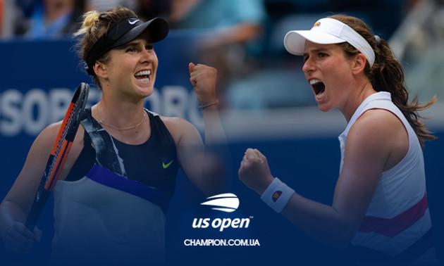 Світоліна - Конта: анонс і прогноз 1/4 фіналу US Open-2019
