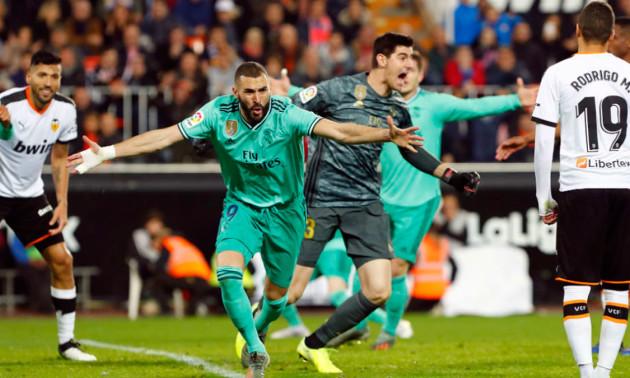 Валенсія - Реал 1:1. Огляд матчу
