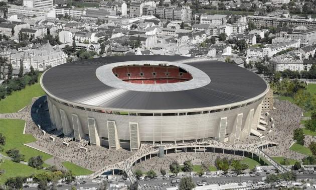 У Будапешті відкрився стадіон Євро-2020 Ференц Пушкаш