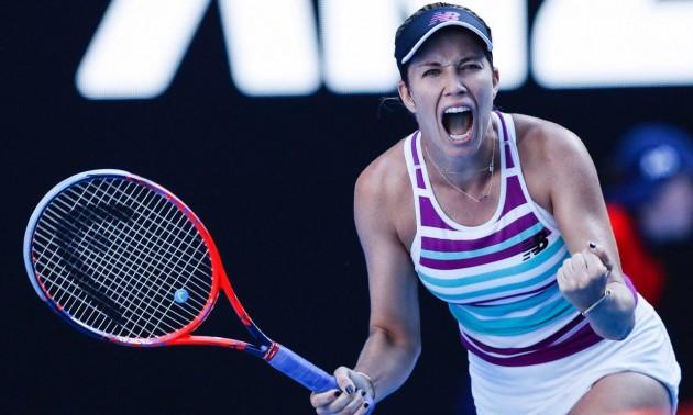 Колінз стала першою півфіналісткою Australian open