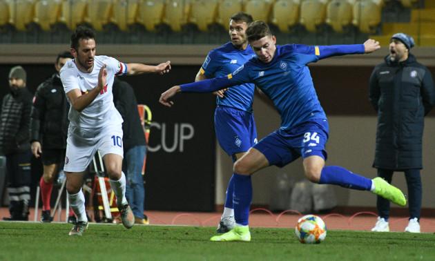 Динамо - Хайдук 0:1. Огляд матчу