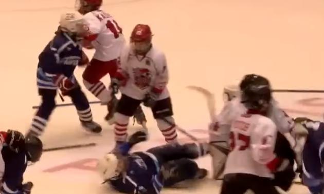 У Росії на матчі дитячого турніру сталася масова бійка