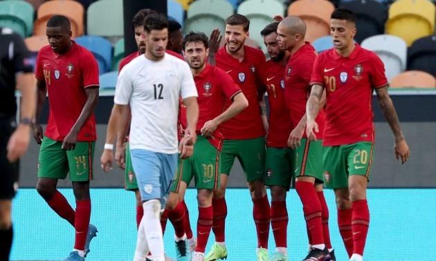Португалія - Ізраїль 4:0. Огляд матчу