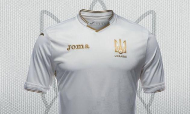 Збірна України вперше зіграє у білій формі