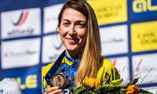 Беломоіна стала бронзовою призеркою чемпіонату Європи